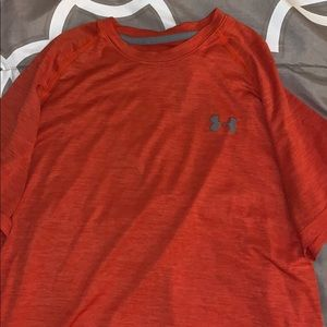 Under Armour Shirts - Orange Men's medium under armour Athletic T-shirt